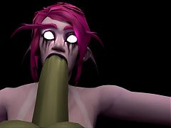 Nightelf POV Blowjob Selfie^0:15