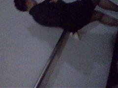 Sexy ejecutiva Madura en minifalda y pantimedias^0:56